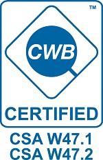 Canadian Welding Bureau Certified